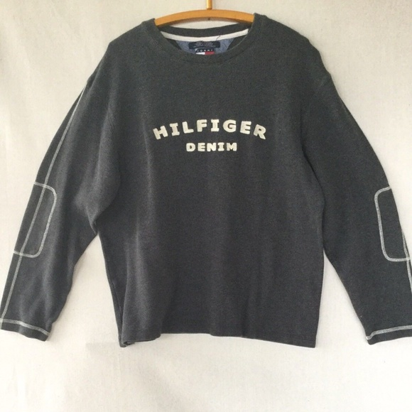 024b46141 Tommy Hilfiger Sweaters | 90s Tommy Jeans Hilfiger Denim Pullover ...